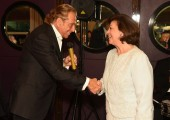 HRH Crown Princess Katherine and Gianni Russo