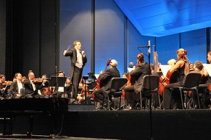 Conductor Bojan Sudjic with RTS Symphony Orchestra