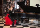 "Mrs Jasmina Jankovic, pianist and author of the CD ""Serbian royal music of Karadjordjevic Dynasty"""