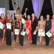 HRH Crown Prince Alexander with Mr. Ivan Mileusnic and the winners in Senior dance category