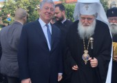 HRH Crown Prince Alexander and His Holiness Neophyte, the Patriarch of Bulgaria