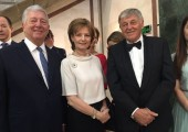 HRH Crown Prince Alexander, Crown Princess Margareta, Custodian of the Romanian Crown and HRH Prince Nikola of Montenegro