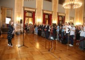 "Reception marking the beginning of the archeological project ""Glac"""