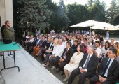 Lecture of Nick Vujicic in front of the White Palace