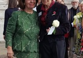 HRH Crown Princess Katherine and Dr. Elaine Laycock, the Medical Advisor of Lifeline Humanitarian Organization United Kingdom