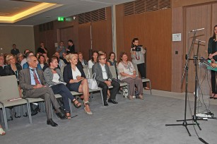 HRH Crown Princess Katherine at the opening of General Assembly of the Association of European Coeliac Societies