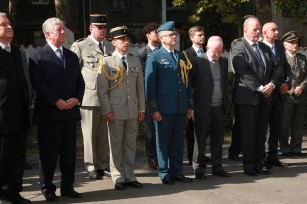 HRH Crown Prince Alexander at the wreath laying ceremony at the Serbian Medical Association