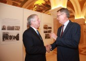 HRH Crown Prince Alexander and HE Mr Alexander Chepurin, ambassador of Russian Federation to Serbia