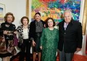 Maria Christina Bilimatsis, Mrs. Jean Georges, Maria Contos, HRH Crown Princess Katherine, Massimo Gargia