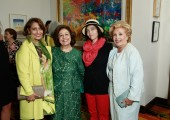 Muna Rihani Al-Nasser, HRH Crown Princess Katherine, Christina Oxenberg, Betty Roumeliotis