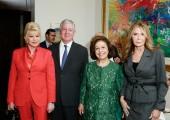 Ivana Trump, HRH Crown Prince Alexander, HRH Crown Princess Katherine, Cheri Kaufman