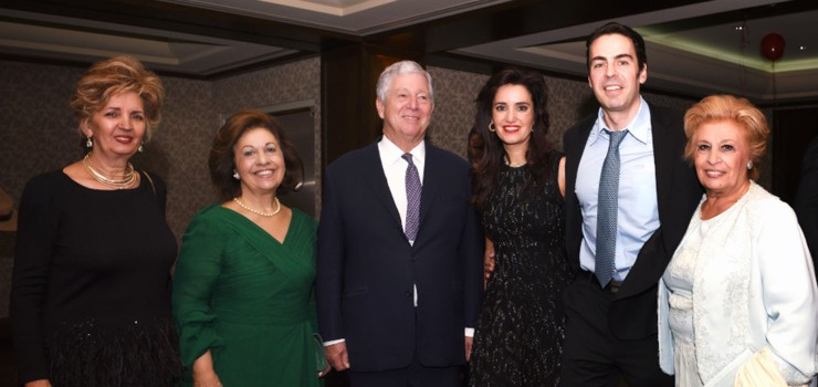 Their Royal Highnesses Crown Prince Alexander and Crown Princess Katherine at the Lifeline Canada fundraising