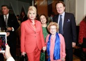 Ivana Trump, HRH Crown Princess Katherine, Dr. Ruth Westheimer, Dr. Douglas Jackson