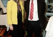 Judy Terzic and Henry Bisharat
