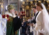 Wedding of TRH Prince Philip and Princess Danica at Saborna church in Belgrade