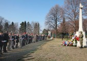 Remembrance Day Ceremony at the Commonwealth War cemetery in Belgrade