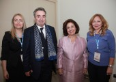 Dr. Nada Santrac, Dr. Radan Dzodic, HRH Crown Princess Katherine and Dr. Ana Jovicevic