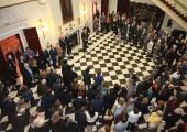 """Otvaranje izložbe """"Kralj Petar II u Slovenačkim Alpima"""" na Belom dvoru"""