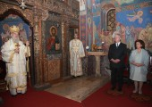 The Holy Liturgy in the Royal Chapel dedicated to St. Andrew the First Called