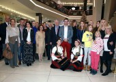 Opening of the Christmas bazaar in Shopping Center Stadion