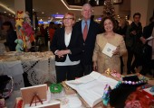 TRH Crown Prince Alexander and Crown Princess Katherine at the opening of the Christmas bazaar