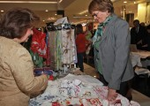 HRH Crown Princess Katherine at the opening of the Christmas bazaar