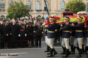 King Michael of Romania funeral photo Reuters