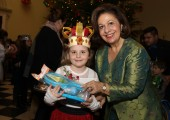 HRH Crown Princess Katherine at the Christmas reception at the White palace