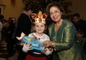 Nj.K.V. Princeza Katarina na tradicionalnom božićnom prijemu u Belom dvoru