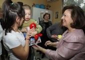 "HRH Crown Princess Katherine visiting Institute for psycho-physical disorders and speech pathology ""Prof. Dr. Cvetko Brajovic"