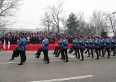 Official parade at Trg Krajina for Republika Srpska Day
