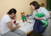 HRH Crown Princess Katherine visiting the Clinical Center Banja Luka