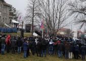 Ceremonija polaganja venaca na spomenik Karađorđu u Orašcu