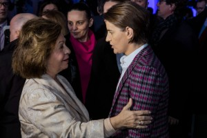 HRH Crown Princess Katherine and HE Mrs. Ana Brnabic, Prime Minister of Republic of Serbia