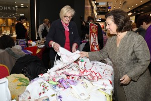 HRH Crown Princess Katherine at the opening of the Easter Bazaar