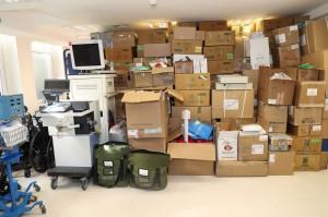 Medical equipment for Zemun hospital