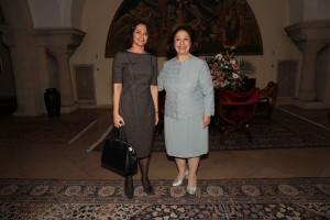 HE Dr Alona Fisher Kamm, Ambassador of Israel and HRH Crown Princess Katherine