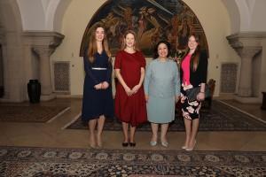 Their Royal Highnesses Princess Ljubica, Princess Danica, Crown Princess Katherine and Princess Fallon