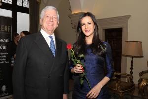 Nj.K.V. Prestolonaslednik Aleksandar i g-đa Tamara Vučić
