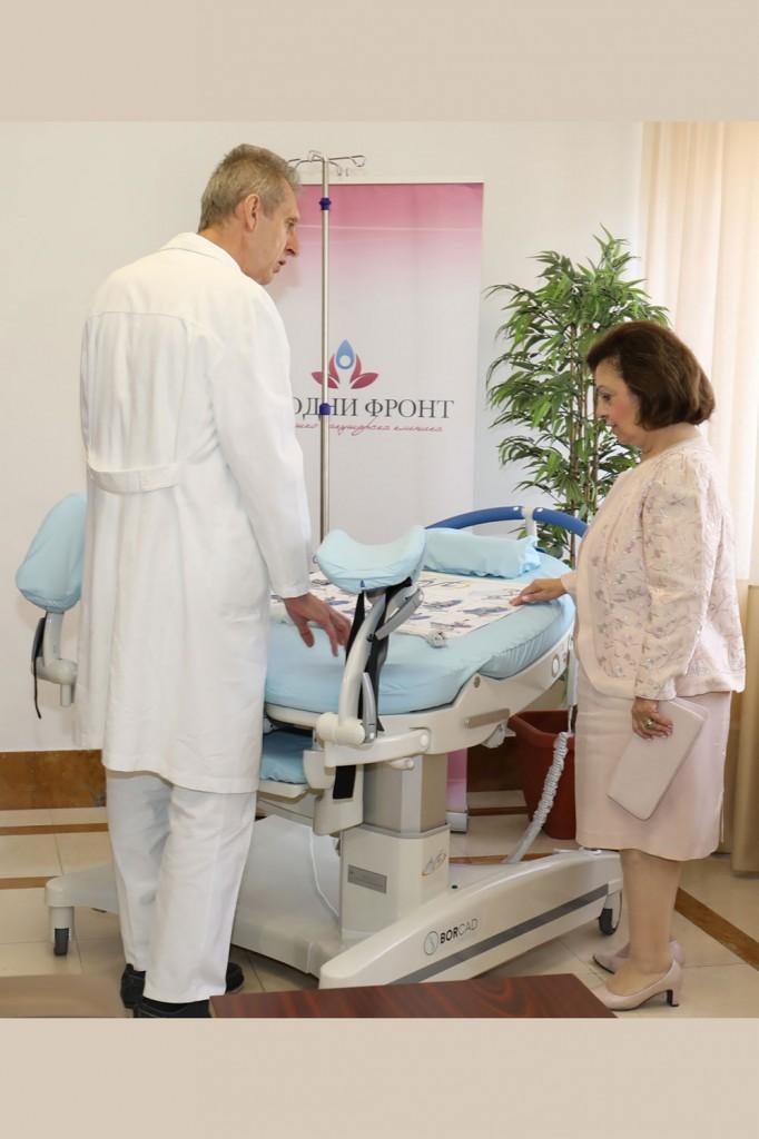 Prof. Dr. Zeljko Mikovic and HRH Crown Princess Katherine