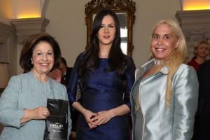 Nj.K.V. Princeza Katarina, g-đa Tamara Vučić, prva dama, supruga Nj.E. g-dina Aleksandra Vučića, i Alison, kćerka Njihovih Kraljevskih Visočanstava