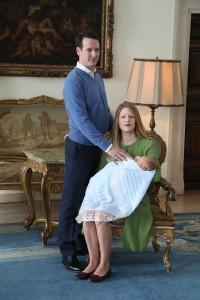 TRH Prince Philip, Princess Danica and Prince Stefan