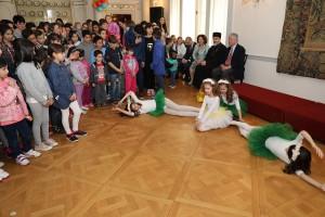 Наступ балерина на васкршњем пријему на Белом двору