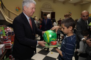 HRH Crown Prince Alexander at the Easter reception