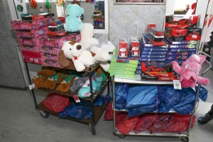 Toys for the children's hospitals