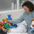 HRH Crown Princess Katherine in Easter hospitals visit