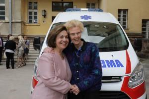 Nj.K.V. Princeza Katarina i dr Elejn Lejkok