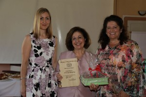 Dr. Aleksandra Gavrilovic, HRH Crown Princess Katherine and Dr. Milena Tatic Bajich