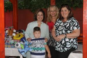 HRH Crown Princess Katherine, Mrs. Melanie Sever and Mrs. Sonja Ogrizovic