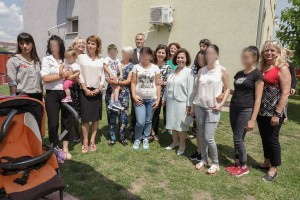 HRH Crown Princess Katherine and Lifeline Chicago delivered help to Safe House in Pancevo
